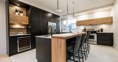 Kitchens and Baths Kitchen Desks, Condo Kitchen, Kitchen Dinning, Home Decor Kitchen, Kitchen Layout, Kitchen Flooring, Kitchen And Bath, Armoire Makeover, Home Design Floor Plans