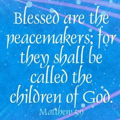 Matthew 5:9 Bible Verse Blessed are the peacemakers