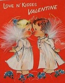 Vintage Valentine Card Girl with Flowers Vintage Valentine Vintage Valentine My Funny Valentine, Valentine Images, Valentines Greetings, Vintage Valentine Cards, Vintage Greeting Cards, Valentines For Kids, Vintage Holiday, Valentine Crafts, Valentine Day Cards