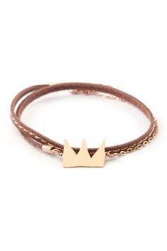 Bracelet cordon & couronne i love it ♥♥♥