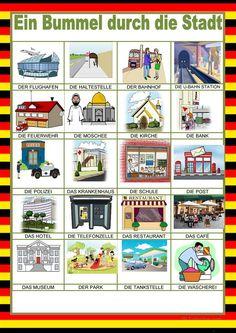 German Language Learning, Learning Spanish, Learn German, U Bahn Station, Germany Language, Das Hotel, Email Marketing, Vocabulary, Writing