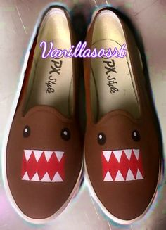 #domokun #paintingshoes #vanillasosrt