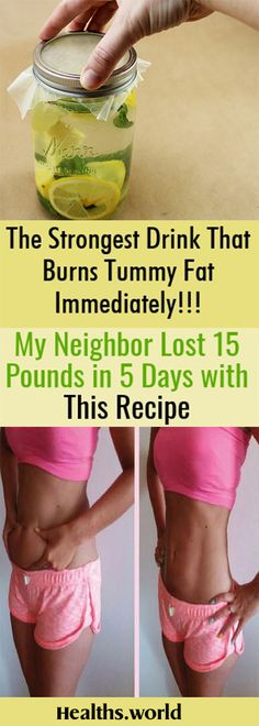 Belly Fat Burner Workout - The Strongest Drink That Burns Tummy Fat Immediately! My Neighbor Lost 15 Pounds in 5 Days with This Recipe Belly Fat Burner Workout Burn Belly Fat Fast, Lose Belly, Flat Belly, Belly Fat Burner Workout, Loose Belly Fat Workout, Belly Fat Burner Drink, Strong Drinks, Bebidas Detox, Lose 15 Pounds