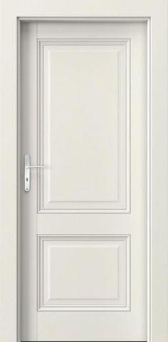 Drzwi wewnętrzne Villadora RETRO Capital0 Okleina Naturalna Retro **** Biel Dorycka