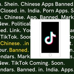 What is the real reason for TikTok's ban in India? Find out in our special report.  #tiktok #tiktokban #chineseapps #shein #voteforlocal #vocalforlocal #ban #india Boho Fashion, Politics, India, App, Boho Outfits, Apps, Bohemian Fashion, Political Books