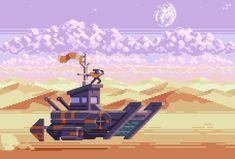 Animated Pixel art gallery — SLYNYRD