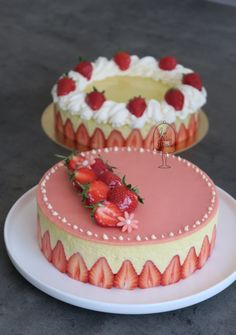 Delicious Cake Recipes, Yummy Cakes, Sweet Recipes, Party Desserts, No Bake Desserts, Dessert Recipes, Torte Recepti, Decoration Patisserie, Sweet Bakery