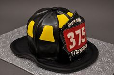 Serves 35 This cake requires that the order is finalized and paid in full at least 10 days in advance of the date required. Fire Cake, Fire Fighter Cake, Rustic Rehearsal Dinners, Fireman Party, Retirement Cakes, Cupcake Cookies, Cupcakes, Fancy Cakes, Creative Cakes