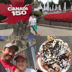 A beautiful day for some fun. And what's a trip to Wonderland without Canada 150, Beautiful Day, Wonderland, Fun, Hilarious