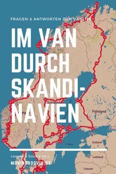 Fragen & Antworten zu meiner Reise durch Schweden, Finnland und Norwegen im Van / Wohnmobil.  Die Reise durch Skandinavien war der Auftakt in mein Leben im Van. Nach über drei Monaten im Van, in denen ich durch Schweden, Finnland und Norwegen gereist bin, kann ich eins sagen: es war die beste Idee ever, in den Van umzuziehen!