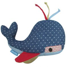 Patchwork Whale Soft Toy Fabric Toys, Sewing For Kids, Whale, Book, Christmas, Scrappy Quilts, Xmas, Whales, Navidad