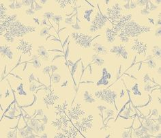 GARDEN_VISITORS fabric by natasha_k_ on Spoonflower - custom fabric