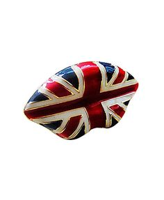 Union Jack Lip Ring from Chicnova