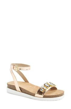 Kenneth Cole Reaction 'So Wild' Ankle Strap Sandal (Women) available at #Nordstrom