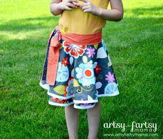 Toddler Wrap Skirt