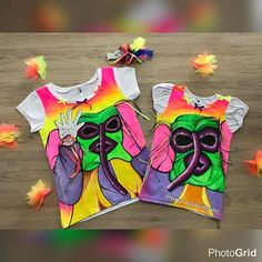 Resultado de imagen para camisetas de carnaval pintadas a mano 2015 Carnival Glass, Werewolf, Bowser, Witch, Lily, Fictional Characters, Babyshower, Art, Vestidos
