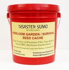 300,000 Premium Heirloom, Non-GMO USA Seeds- 54 Varieties