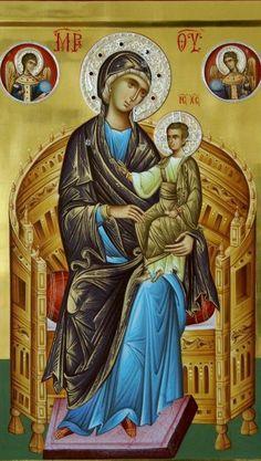 Orthodox Icons, Mother Mary, Madonna, Meditation, Religion, Princess Zelda, Faith, Places, Painting