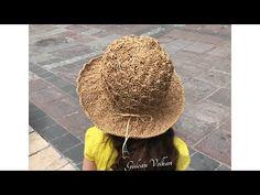 How To Crochet A Beach Hat - Crochetopedia Crochet Hat Tutorial, Crochet Cap, Stylish Hats, Feather Art, Diy Crafts For Gifts, Modern Cross Stitch, Summer Hats, Learn To Crochet, Sun Hats