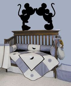 Mickey Mouse Minnie Mouse Decals Wall Art Decal Disney Characters Stickers Bedroom Nursery Baby Home Decor