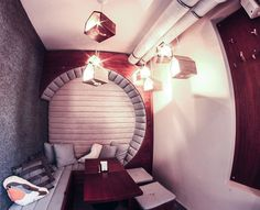 Dziupla Sopot  #coffee #wood #interior #design #cosyDziupla Sopot -