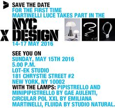 We are waiting for you in ‪#‎NYC‬  ‪#‎press‬ ‪#‎designers‬ ‪#‎architects‬  ‪#‎buyers‬ ‪#‎designlovers‬
