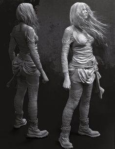 girl, Izabela Zelmańska on ArtStation at http://www.artstation.com/artwork/girl-c48703be-298b-4cc4-9858-83c3a46fb6e5