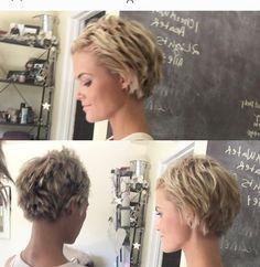 """570 mentions J'aime, 18 commentaires - Krissa Fowles (@krissafowles) sur Instagram : """"✂️ #pixie #shorthairdontcare #blonde"""""""