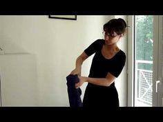 """""""Tressage"""" d'une écharpe de portage : méthode de la chainette - YouTube"""