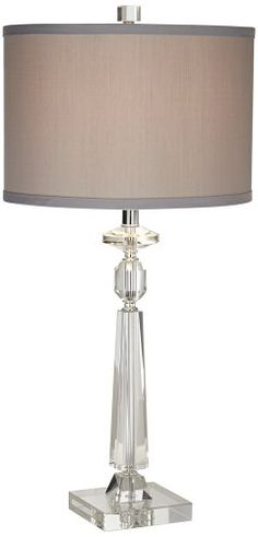 Aline Modern Crystal Table Lamp By Vienna Full Spectrum   Style #