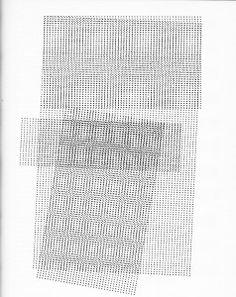 Tim Ulrichs typotexture, 1962