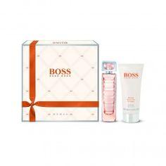 Hugo Boss Orange Woman Gift Set 2013 with 50ml Eau de Toilette Spray and 100ml Body Lotion; available at http://fragrance-house.co.uk/women/1059163-hugo-boss-orange-woman-gift-set-50ml-edt-100ml-body-lotion-737052719672.html#