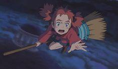 Mary and the Witch's Flower Animation Film, Studio Ghibli Art, Ghibli, Illustration, Fandom Drawing, Cartoon, Japanese Animation, Witch, Art