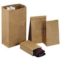 Bolsa de papel kraft natural 36x90x24cm