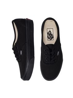 STANCE $60.00 Vans AUTHENTIC - BLACK/BLACK | Stance Shoes