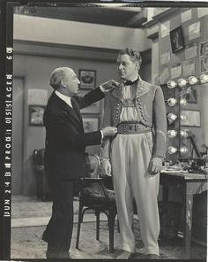 Original, vintage photo, from original negative with date stamped on the left margin (Jun 24/38), wardrobe photo of Nelson Eddy for Sweethearts (1938) - ESCANO COLLECTION