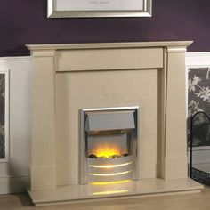 Multi Fuel Stove, Fire Surround, Fireplace Surrounds, Stoves, Wood Burning, Beige, Medium, Home Decor, Cozy Fireplace