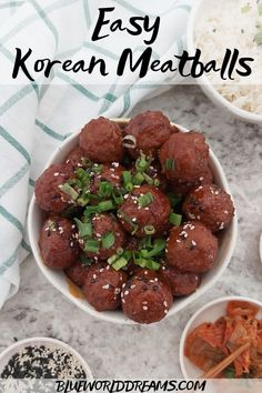These Korean inspired Meatballs are sweet, spicy, and full of flavor. This easy Instant Pot recipe using frozen meatballs is perfect for a weeknight dinner or served as an appetizer for your office or holiday potluck. Enjoy the vibrant flavors of Gochujang, Hoisin and Soy soya in one delicious meaty bite. #gochujang #instantpotrecipes #thanksgivingappetizers #meatballappetizers #holidayrecipes #appetizer #koreanrecipes Sushi Recipes, Potluck Recipes, Asian Recipes, Holiday Recipes, Dinner Party Recipes, Vietnamese Recipes, Healthy Recipes, Sweet Potato Lentil Curry, Yummy Appetizers