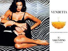 Yasmeen Ghauri  for Valentino Vendetta (1993)