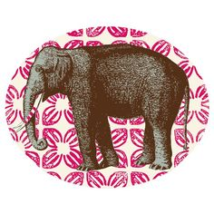 COMBO time! #berry and #elephants all rolled up!I pinned this Thomas Paul Bazaar Elephant Tray from the Animal Attraction event at Joss and Main!