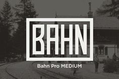 Check out Bahn Pro Medium by MARTINI Type Designer on Creative Market