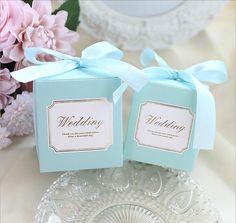 Европейский простая атмосфера Cube Коробки конфет детские показано сувениры Подарочная сумка Свадебная вечеринка выступает поставок коробка подарочная упаковка