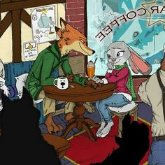 Nick and Judy are out on a Date Zootopia Fanfiction, Zootopia Comic, Zootopia Art, Disney Films, Disney And Dreamworks, Disney Art, Zootopia Nick And Judy, Judy Hopps, Space Cat