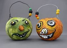 Image result for paper mache balloon faces