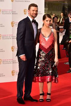 The 2016 TV BAFTA red carpet looked pretty spectacular last night...