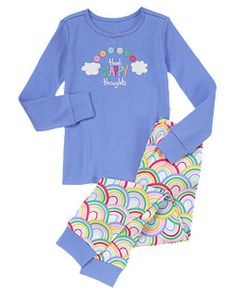 Happy Thoughts Two-Piece Gymmies®- size 10