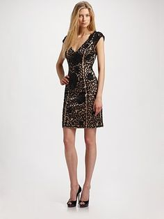 Sue Wong Beaded open back dress... if only I had an event coming up to justify purchasing it!