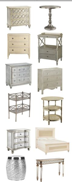 inspiration collection, hollywood glam  -- vintage modern mid-century eclectic glam lux lush hollywood regency chippendale gold silver metal boho bohemian eclectic interior design home decor inspiration guide
