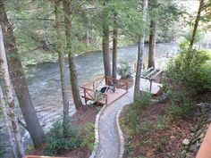 VRBO.com #109903 - Beautiful View ~  Toccoa Riverfront  ~ Fisherman's Dream