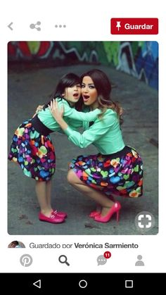 Choose from the best and beautiful matching African ankara styles for mother and daughter. These ankara styles are meant for stunning mother and daughter Mother Daughter Photos, Mother Daughter Matching Outfits, Mother Daughter Fashion, Mommy And Me Outfits, Future Daughter, Family Outfits, Kids Outfits, Mother Daughters, Modelos Fashion